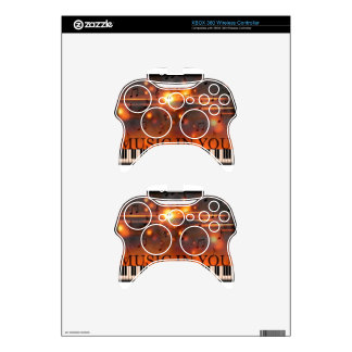 Music In You Xbox 360 Controller Decal