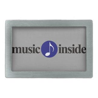 music inside belt buckle