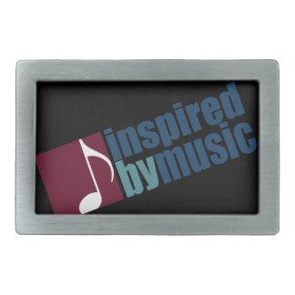 music inspiration rectangular belt buckle