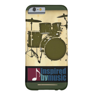 music inspired - a drum barely there iPhone 6 case