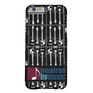 music inspired guitar-pattern barely there iPhone 6 case
