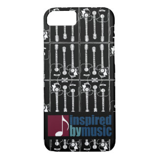music inspired guitar-pattern iPhone 8/7 case