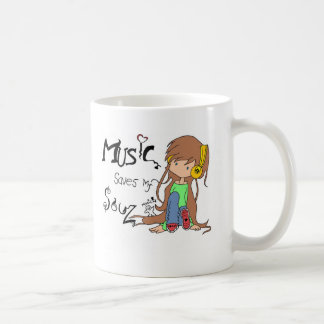 Music inspired orginal design coffee mug