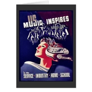 Music Inspires Card