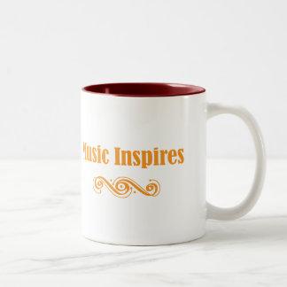 Music Inspires Mug