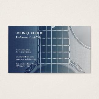 Music Instructor Guitar Tutorials Musician Business Card