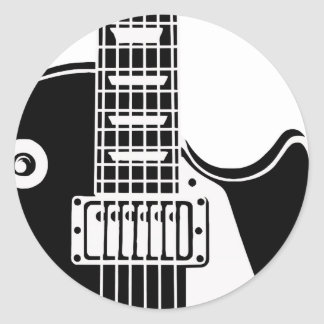Music instrument guitar - Musicians Sticker