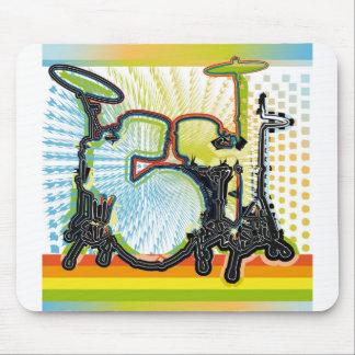 Music Instrument illustration Mouse Pad