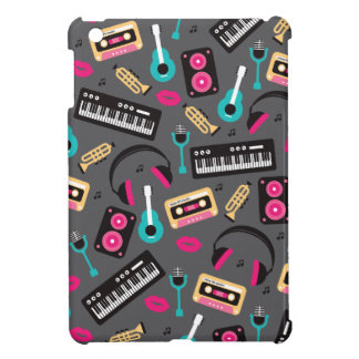 Music instrument retro jazz cassette and sounds iPad mini covers