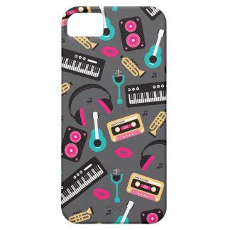 Music instrument retro jazz cassette and sounds iPhone SE/5/5s case