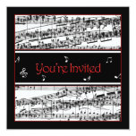 Music Invitation - Optional Uses