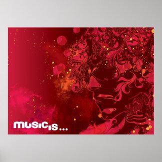 music is (2) print