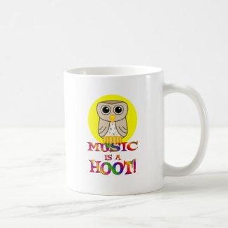Music is a Hoot Coffee Mug