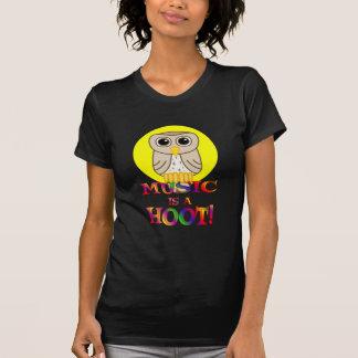 Music is a Hoot Tshirt