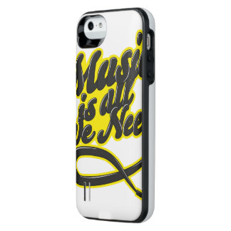 Music Is All We Need Typography iPhone SE/5/5s Battery Case