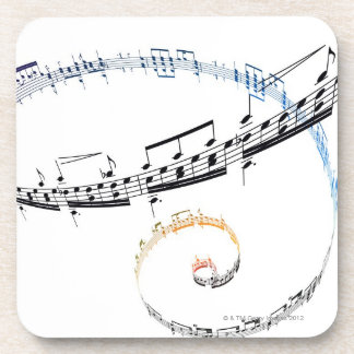 Music is Based on Fanataisie Drink Coaster
