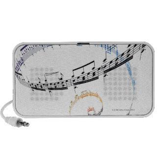 Music is Based on Fanataisie Notebook Speaker