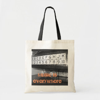 Music is Everywhere Tote Bag
