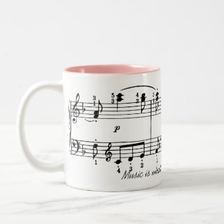 Music is Feeling Coffee Mug