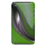 Music is green geometry iPod touch cases