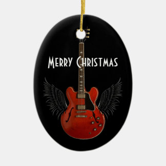 Music is Heaven Christmas Ornament