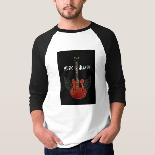Music is Heaven Concert Style Shirt