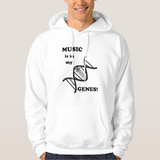 Music Is In My Genes Hoodie