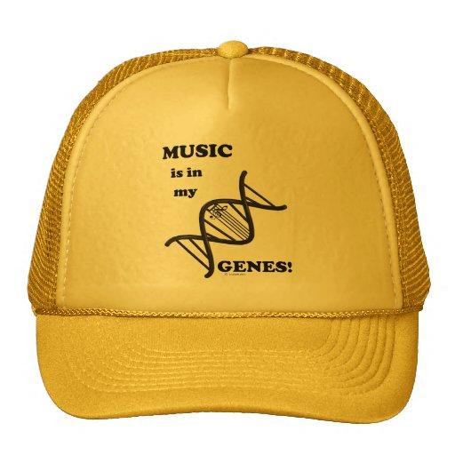 Music Is In My Genes Trucker Hats