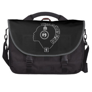 Music Is In My Spine laptop bag