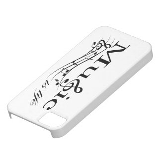 Music is Life (black) iPhone 5 Covers