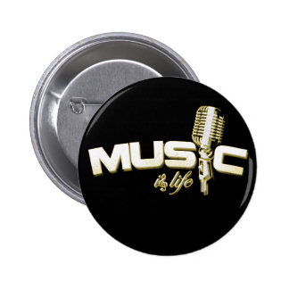 Music is life Button