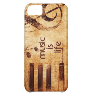 Music is Life iPhone 5C Cover