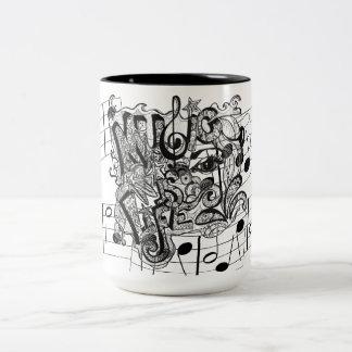 Music Is Life Coffee Mugs