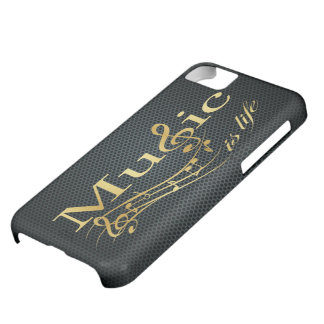 Music is Life Cover For iPhone 5C