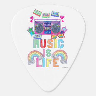 Music is Life Guitar Pick