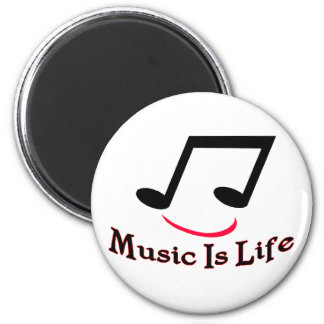 Music Is Life Magnet