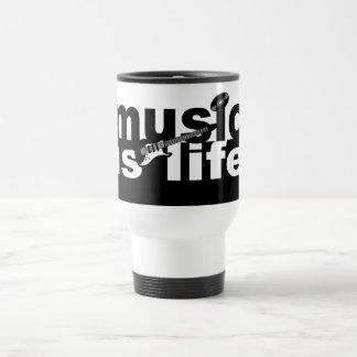 Music is Life mug - choose style, color