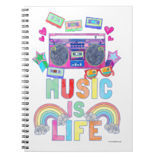 Music is Life Notebook