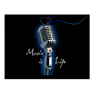 Music is Life Postcards