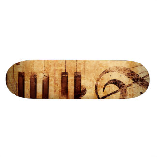 Music is Life Skateboard Deck