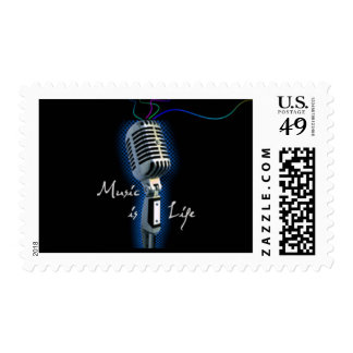 Music is Life Stamps