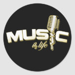 Music is life Stickers