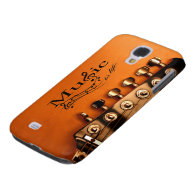 Music is Life with Guitar Machine Head Galaxy S4 Case