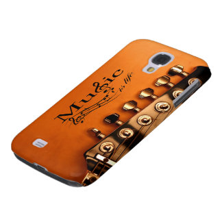 Music is Life with Guitar Machine Head Samsung S4 Case
