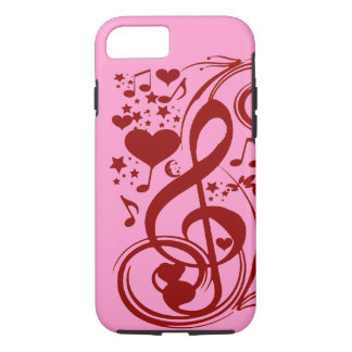 Music is love_ iPhone 7 case