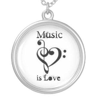 Music is Love Pendant
