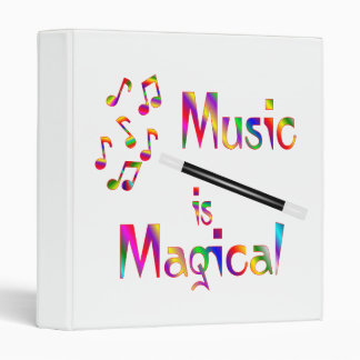 Music is Magical Binder