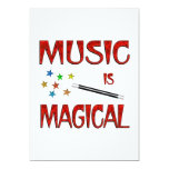 Music is Magical Invitations