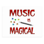 Music is Magical Postcards