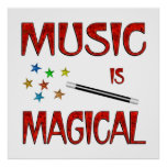 Music is Magical Poster